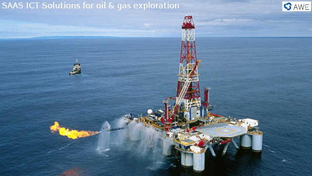 Casino oil rig - Photo Courtesy AWE Limited